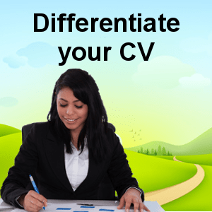 Differentiate your CV
