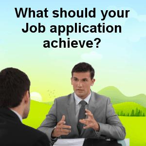Job application achieve