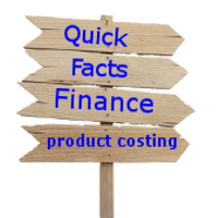 Facts costing a product