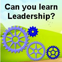 Can you learn leadership