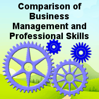 Comparison of Business Management and Professional Skills