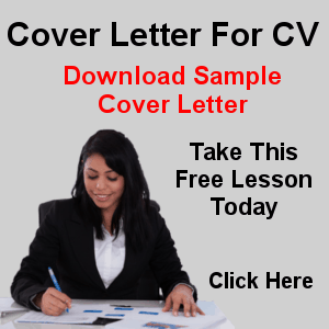 Cover letter Prompt