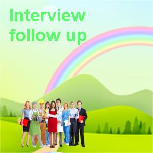 Interview Follow Up
