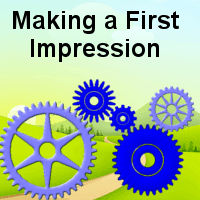 Making a first impression