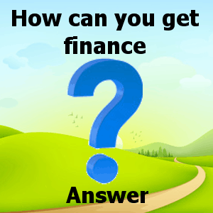 How can you get finance answer
