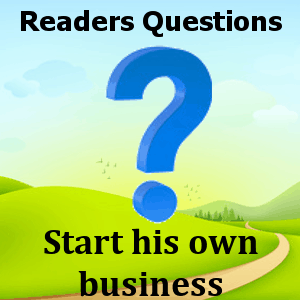 start-his-own-business